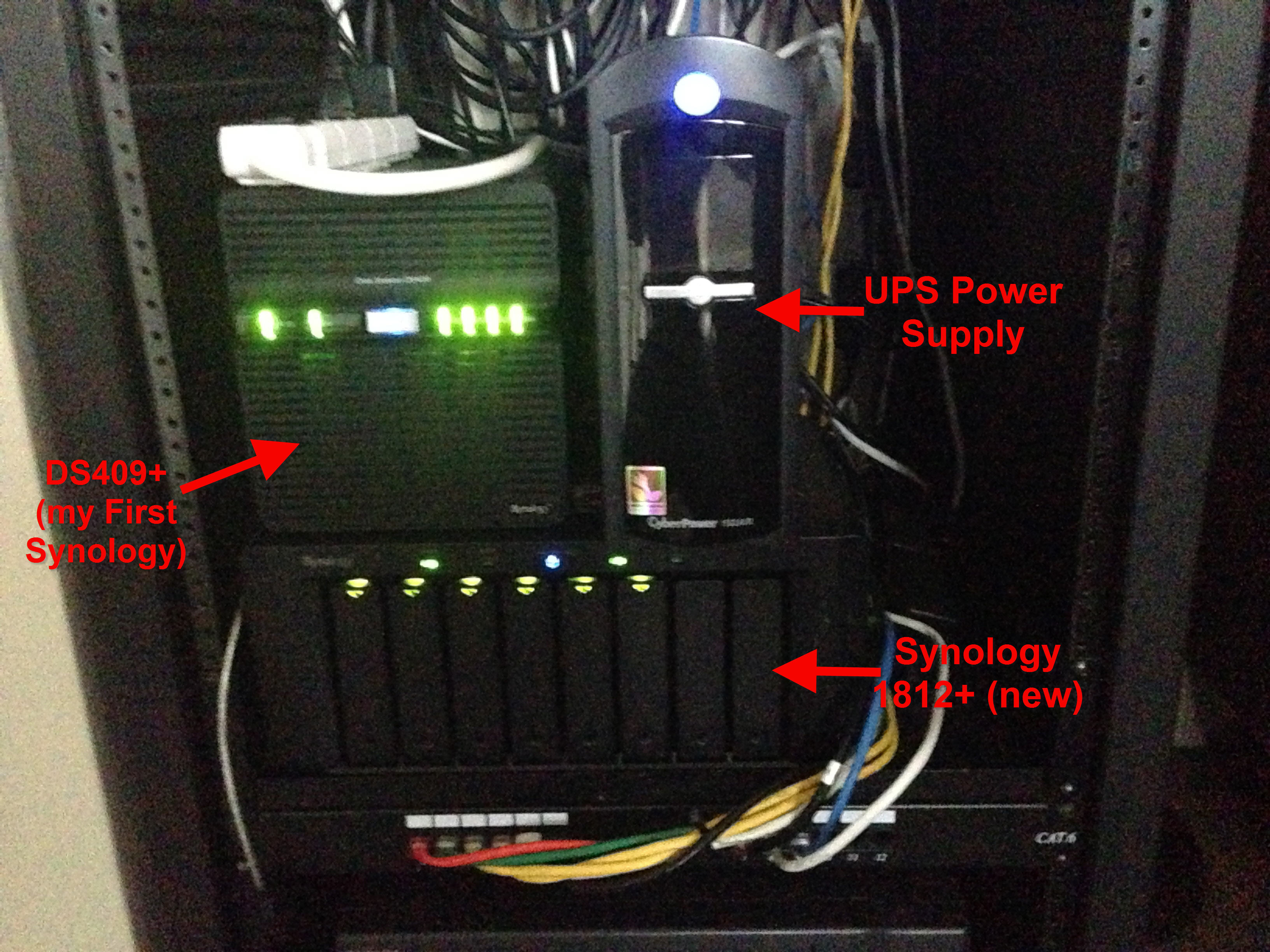 Reeds Home Theater Automation Write Up Structured Wiring Ups Synology Devices And My